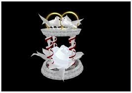 dove cake topper second marketplace wedding cake topper dove