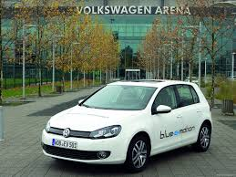 volkswagen golf blue volkswagen golf blue e motion concept 2010 pictures