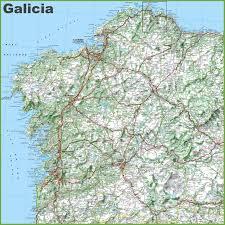 Vigo Spain Map by Galicia Maps Spain Maps Of Galicia