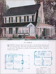 colonial home builders the 1928 dewit dutch colonial revival gambrel barn style roof