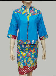 gambar model baju batik modern 65 gambar model baju batik untuk kerja terbaru 2018 keren trendy