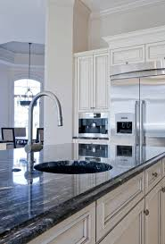 Kitchen White Cabinets Black Countertops - 36 inspiring kitchens with white cabinets and dark granite pictures