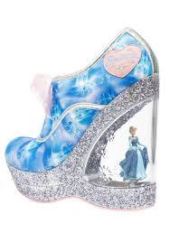 cinderella light up shoes size 7 8 irregular choice cinderella call me cinders wedge character heel