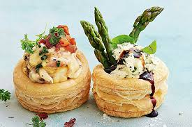 puff pastry canape ideas puff pastry canapes ideas goat s cheese and asparagus vol au