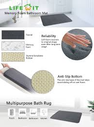Soft Bathroom Rugs by Amazon Com Lifewit 32