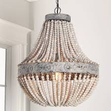 Beaded Chandelier Etsy Wooden Bead Chandelier Uk Wood Pottery Barn Beaded Mini U2013 Glorema Com