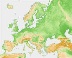 Blank Eastern Europe Map by Europe Blank Map