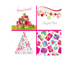merry christmas vector pack colorful and funny vectors reindeer