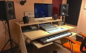 studio workstation desks review platform output u0027s new studio desk logic pro expert