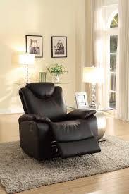 homelegance talbot reclining sofa set black bonded leather