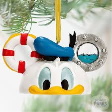 disney parks donald duck ear hat ornament ebay