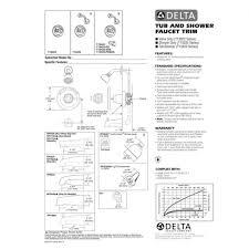 Delta Kitchen Faucet Models Diagram For Innovations Two Handle Bathroom Faucet Model 2350 Series