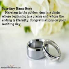 marriage congratulations message best wedding congratulations message with name