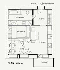 Floor Plan Of An Apartment Top 25 Best Small Apartment Plans Ideas On Pinterest Studio