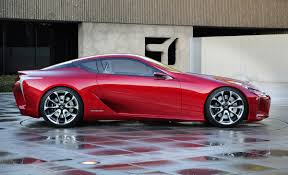 new lexus hybrid coupe lf lc sport coupe concept big hit in detroit