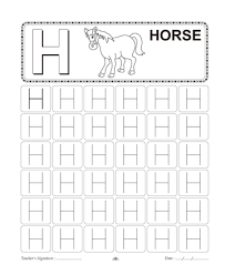 capital letter writing h printable coloring worksheet