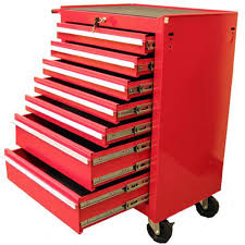 Kennedy Tool Box Side Cabinet Excel 26 In 7 Drawer Roller Tool Cabinet With Raised Handle