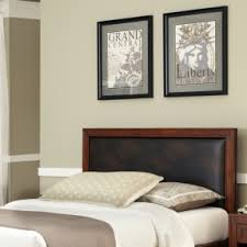 Leather Headboard Queen Bed by Queen Size Leather Headboard Foter