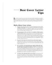 best cover letters samples sample cover letter tips guidelines