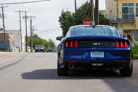 the with the blue mustang why the 2015 ford mustang gt is impossible not to like