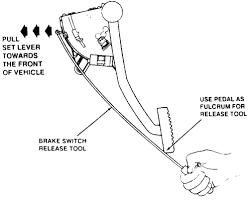 gmc brake light switch replacement repair guides brake operating system brake light switch