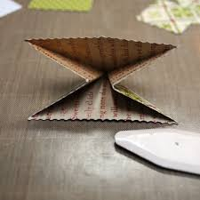 runs with scraps cheery lynn designs origami tree tutorial and