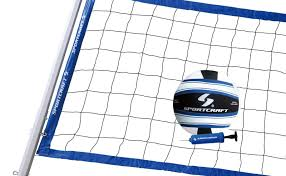 nets 159131 sport craft expert volleyball set net ball outdoor
