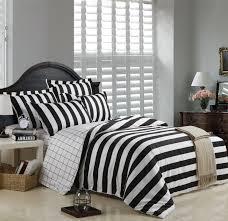 White Stripe Duvet Cover Black And White Striped Duvet Cover Bedding Sets Full Queen King
