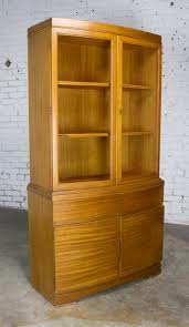 Hutch Menu Mid Century Modern Mahogany Small China Hutch Cabinet