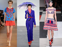 Blue And Red Color Combination Color Combinations Seen On The Runway