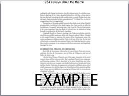 theme essay for 1984 1984 essays about the theme essay writing service
