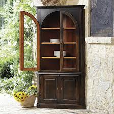 corner china cabinets dining room casa florentina gabriele corner china cabinet custom ballard with