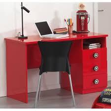 meuble bureau pour chambre enfant décor voiture de courses