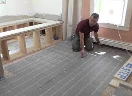 installing heated floors in bathroom carpetcleaningvirginiacom
