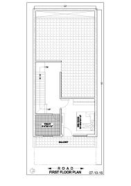 duplex house floor plans 20 50 duplex house floor plan ghar banavo