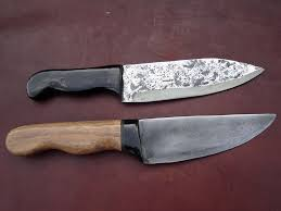 Homemade Kitchen Knives Knives By Nick Knife Making Courses