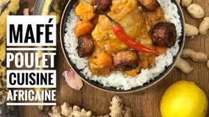 cuisine malienne mafé cuisine africaine recette mafé poulet facile avec chef solange