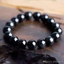 best size bracelet images Best wholesale new obsidian beaded bracelet precious stone jpg
