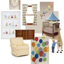 Circus Crib Bedding Gender Neutral Vintage Circus Nursery Decor