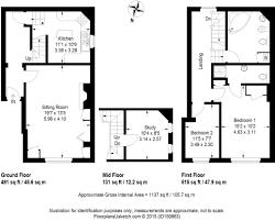 Downing Street Floor Plan 3 Bedroom Cottage For Sale In Downing Street Farnham Gu9