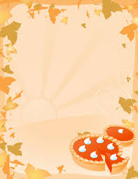 thanksgiving clip borders vector illustration of two pumpkin