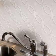 Fasade Backsplash Panels Reviews by Fasade Traditional Style 1 Gloss White Backsplash Panel