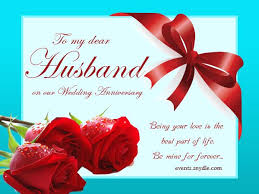 wedding anniversary cards for husband di light anniversary