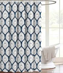 Mimi Shower Curtain Amazon Com Cynthia Rowley Indian Elephant Fabric Shower Curtain