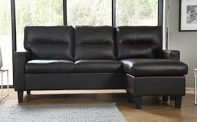 Small Brown Leather Corner Sofa Fletcher Small Brown Leather Corner Sofa L Shape Only 299 99
