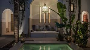 moroccan riad floor plan morocco s riad hotels private palaces for travelers cnn travel