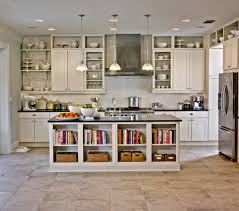 Amazing Cabinets Without Doors Comes With Awesome White Wall - Kitchen cabinet without doors