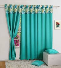 semi blackout polyester window curtain with eyelets 48x60 inch