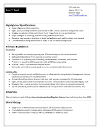 Resumes Examples For College Students by A Resume Sample For College Student Free Resume Example And