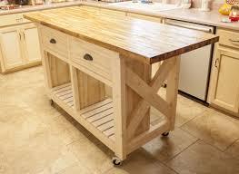 butcher block table on wheels inspiring kitchen butcher block table on wheels u pics for diy top